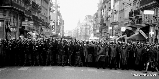 Mai 68 - Paris - CRS