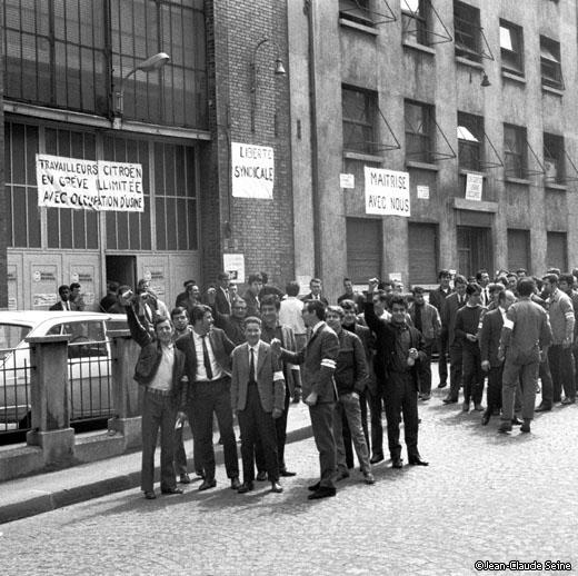 Mai 68 - Citroen Clichy
