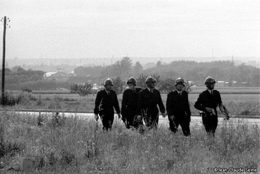 Mai 68 - CRS Renault Flins
