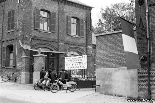 Mai 68 - fixecourt - usine Saint Freres