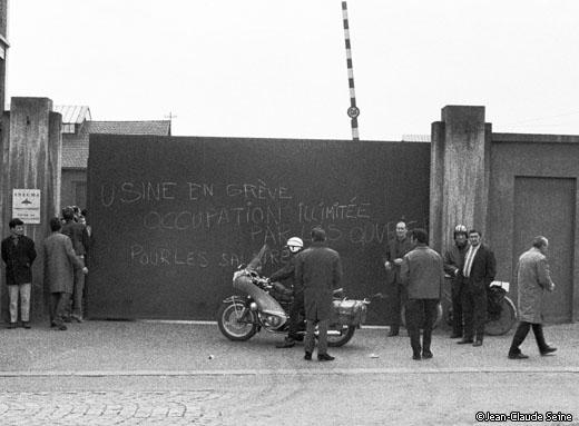 Mai 68 - Gennevilliers usine Snecma