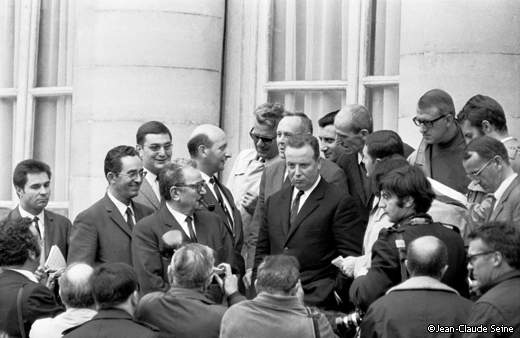 Mai 68 - Paris - accords de grenelle - Georges Seguy