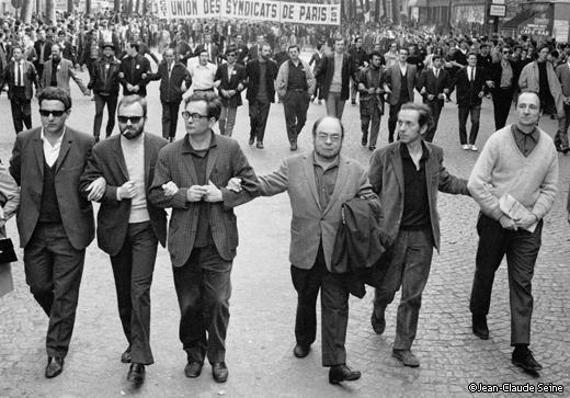 Mai 68 - Sollers Pleynet Thibaudeau Guillevic Deleuze Roubaud