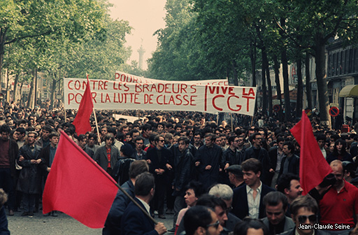 Mai 68 - Paris - photo couleur