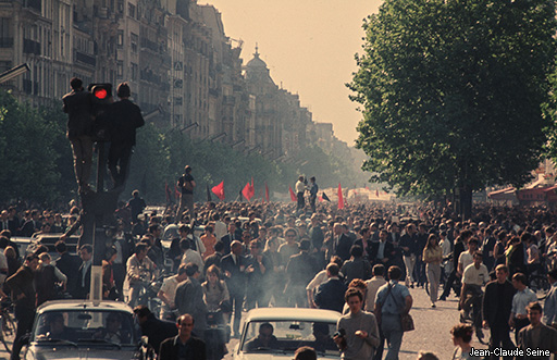 Mai 68 - Paris - photo couleur 07