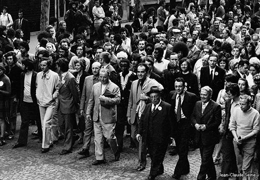 Mai 68 - Paris - Manifestation du 13 mai